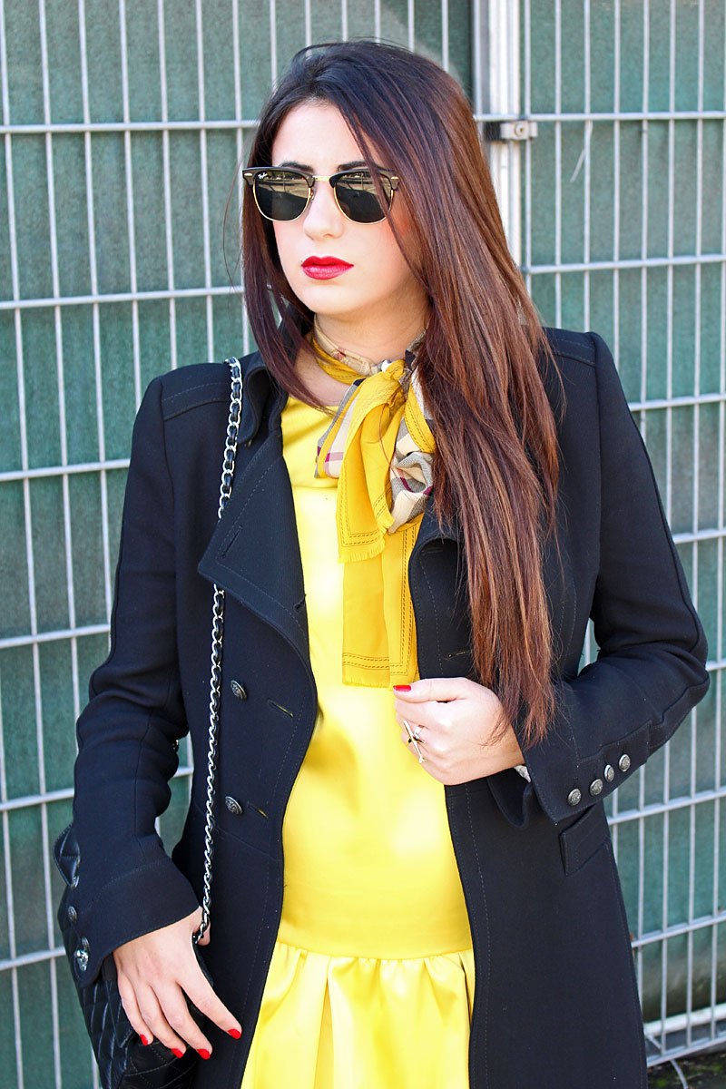 Moments of Fashion, München, Blog, yellow burberry rain boots, Chanel, Ray Ban, H&M, Mac, Mango