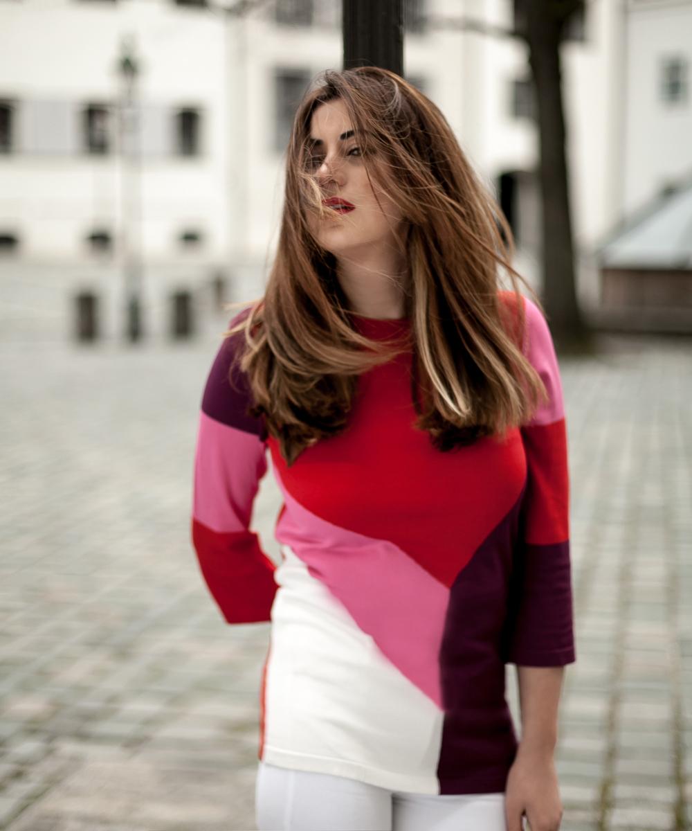 Moments of Fashion, München, Fashion Blog München, Rainbow color light beam
