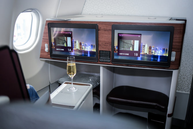 OVER THE SKY WITH QATAR AIRWAYS